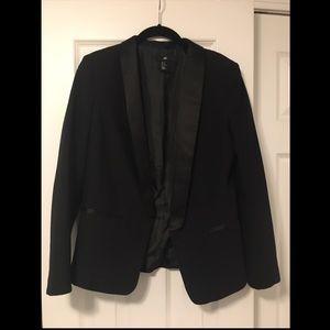 H&M Black Blazer - Size: 10